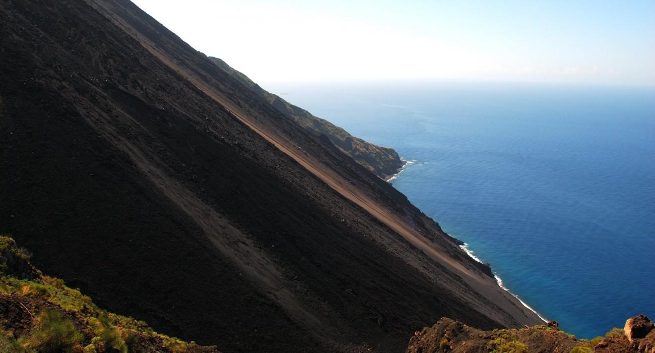 Sciara del Fuoco Stromboli Isole Eolie
