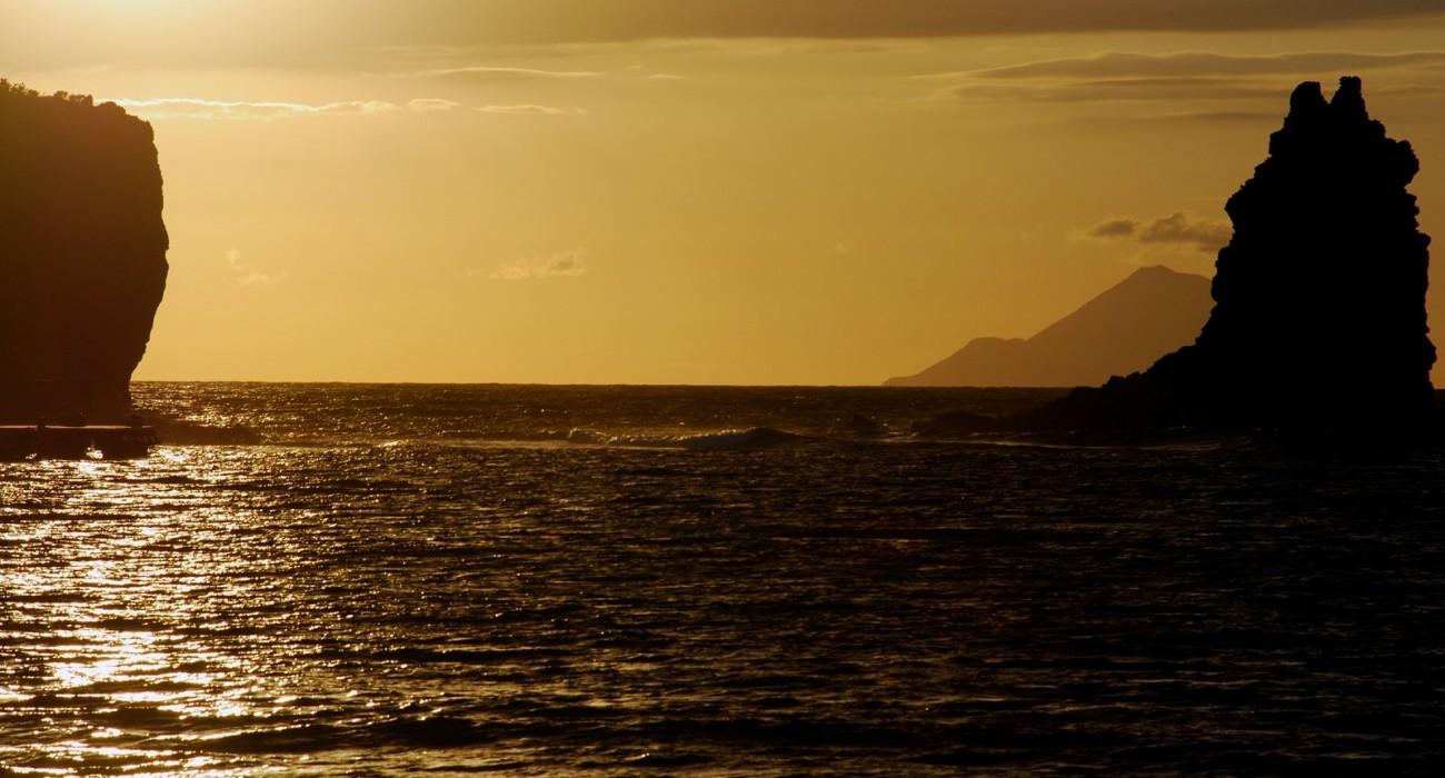 Tramonto Isole Eolie Filicudi