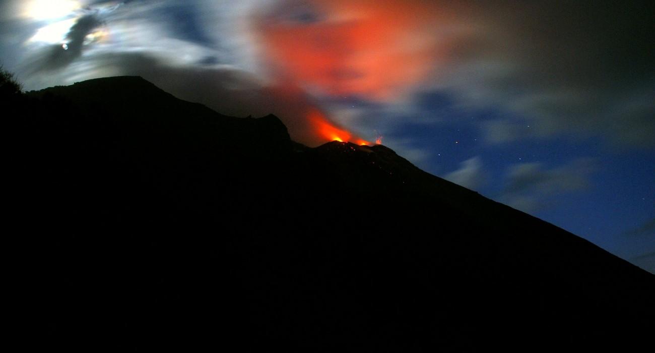 Stromboli Crateri Sciara del Fuoco Isole Eolie