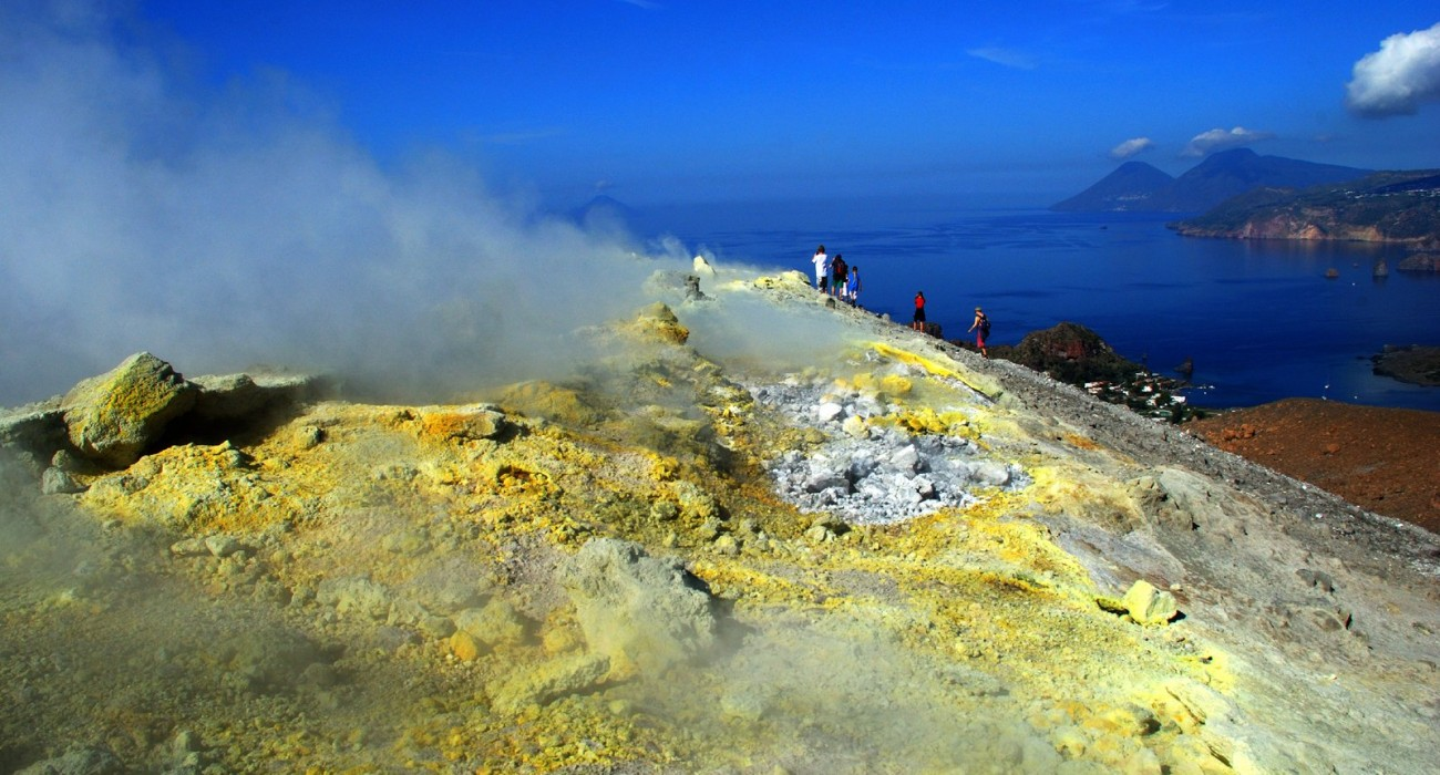 Cratere Vulcano  Isole Eolie