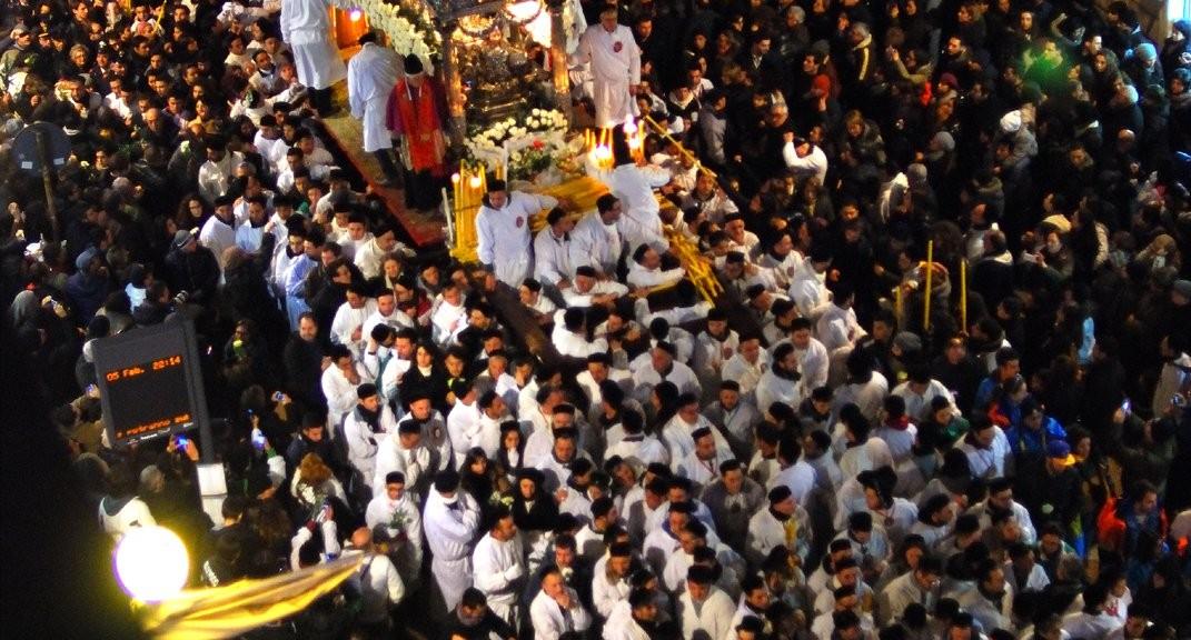 Devoti Festa Sant
