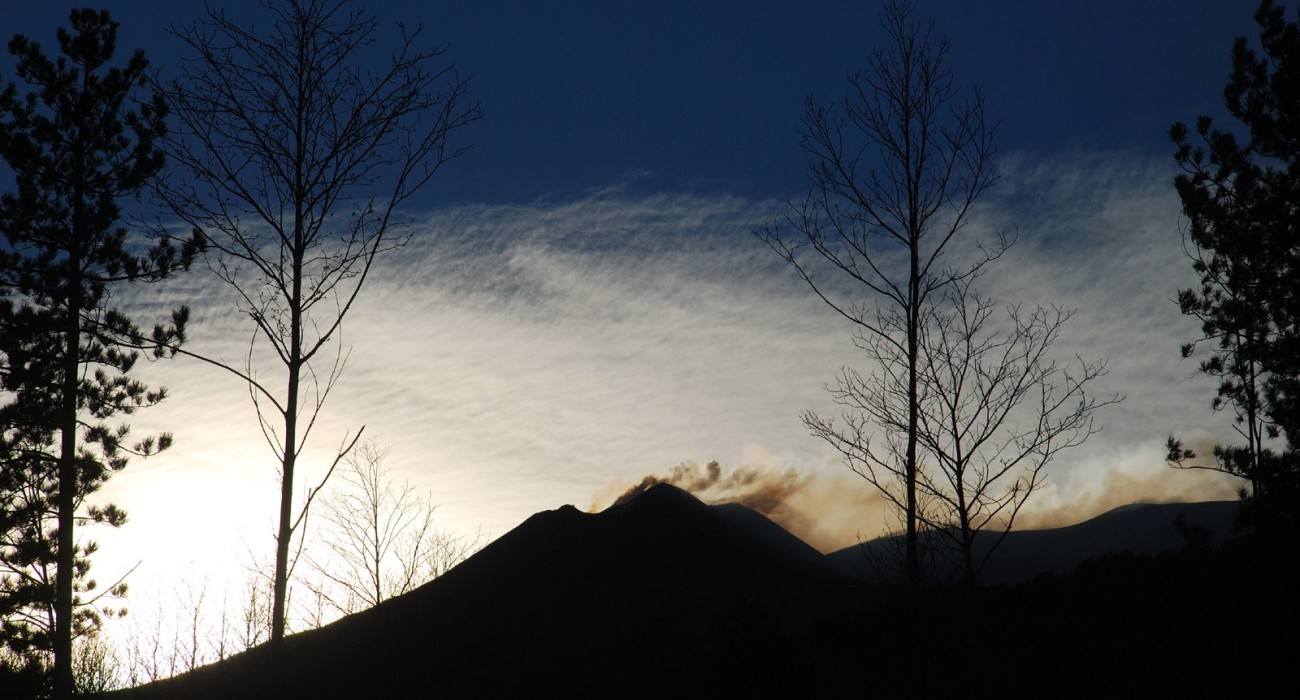 Cratere Etna Sud Tramonto