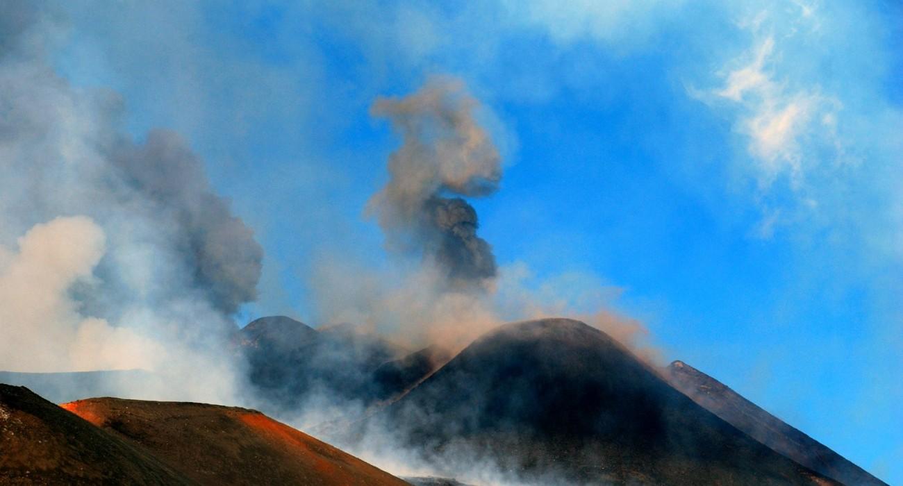 Etna Eruzione Cratere Sud Est Parossismo